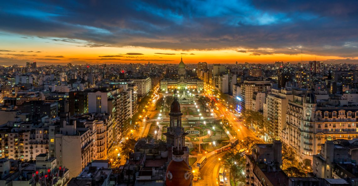 Buenos Aires, tango and navigation