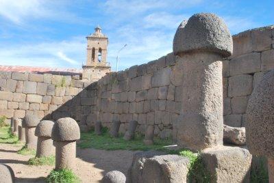 Restos arqueologicos de  inca Uyo