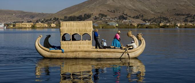 Vuelo del Cóndor y Titicaca