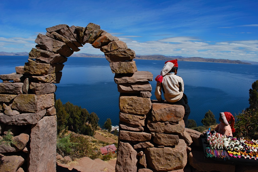The Flight of the Condor and Titicaca Lake