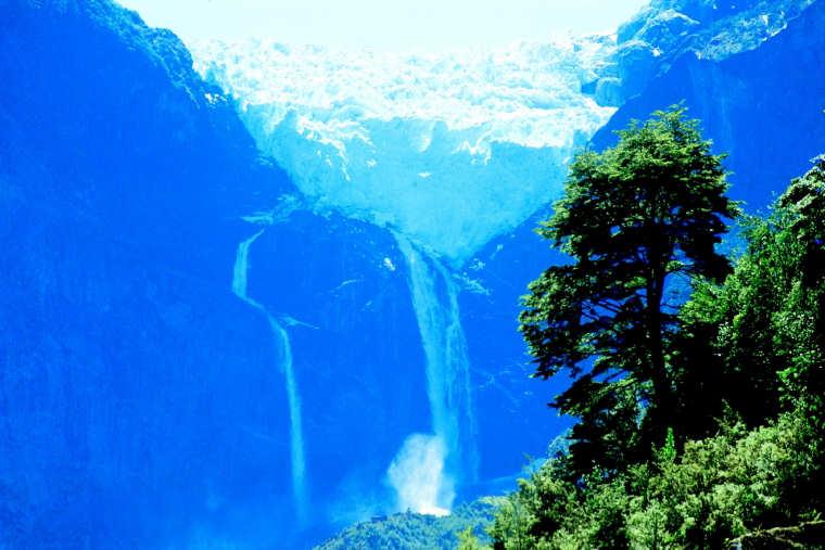 Patagonia, San Rafael Lagoon and Torres del Paine